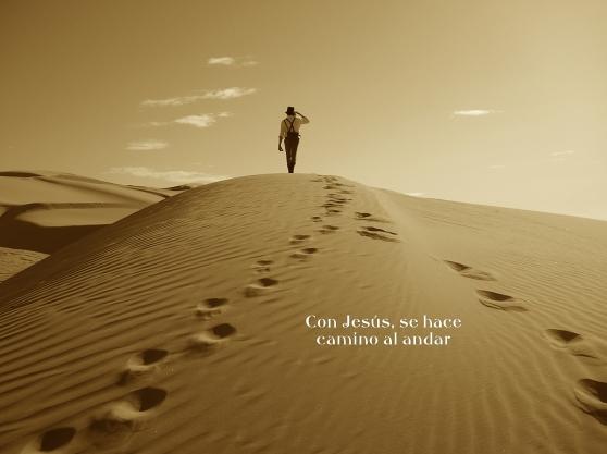 Caminar hasta llegar a Dios