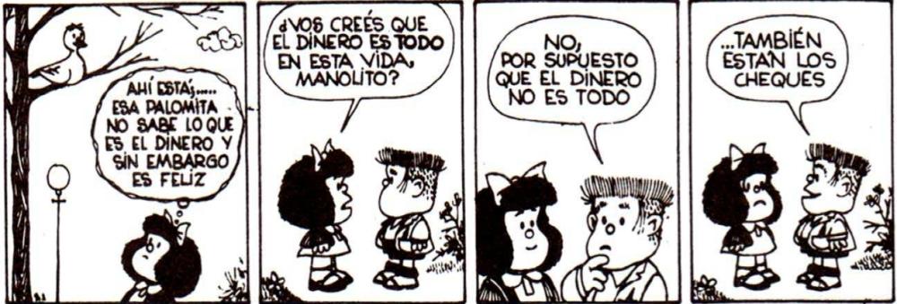 Chiste de Mafalda