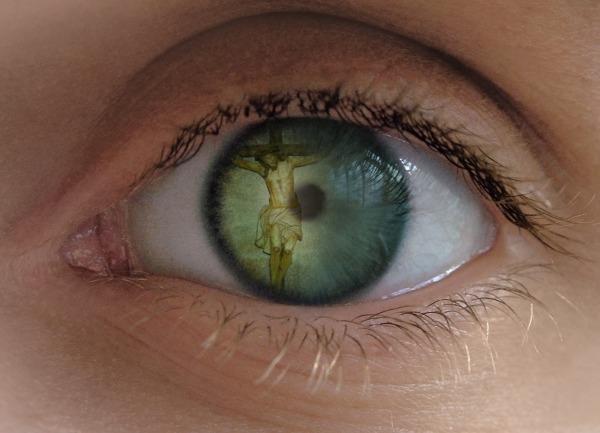 Jesús en el ojo