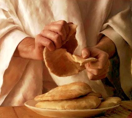 Dar de comer el Pan de vida