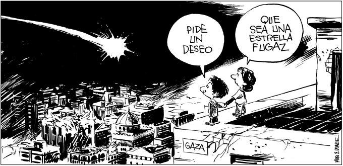 Estrella fugaz -Gaza- de Miki y Duarte