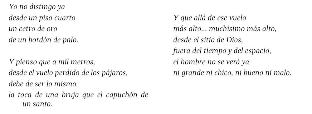 Poesía de León Felipe - Altura