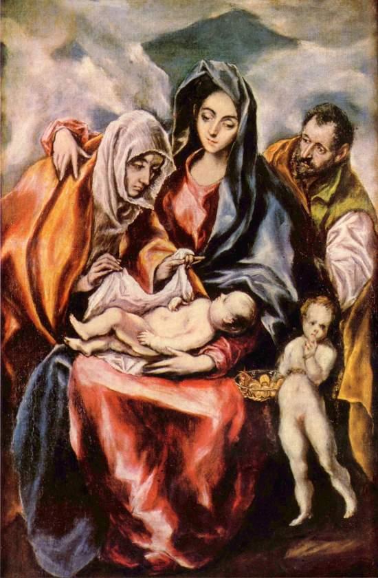 Sagrada Familia - El Greco