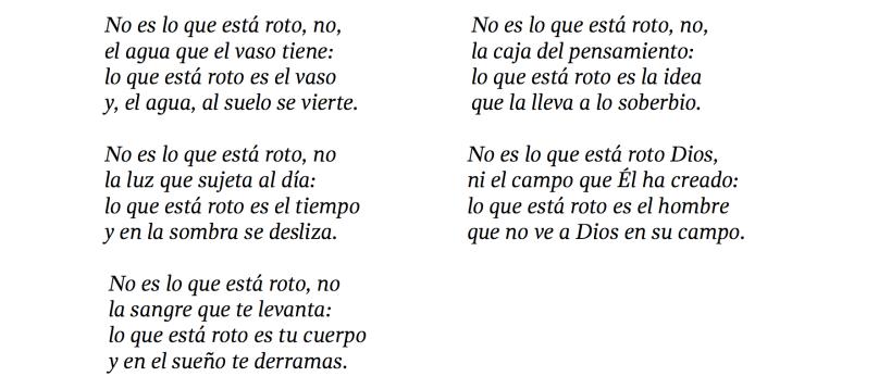 poema de Emilio Prados
